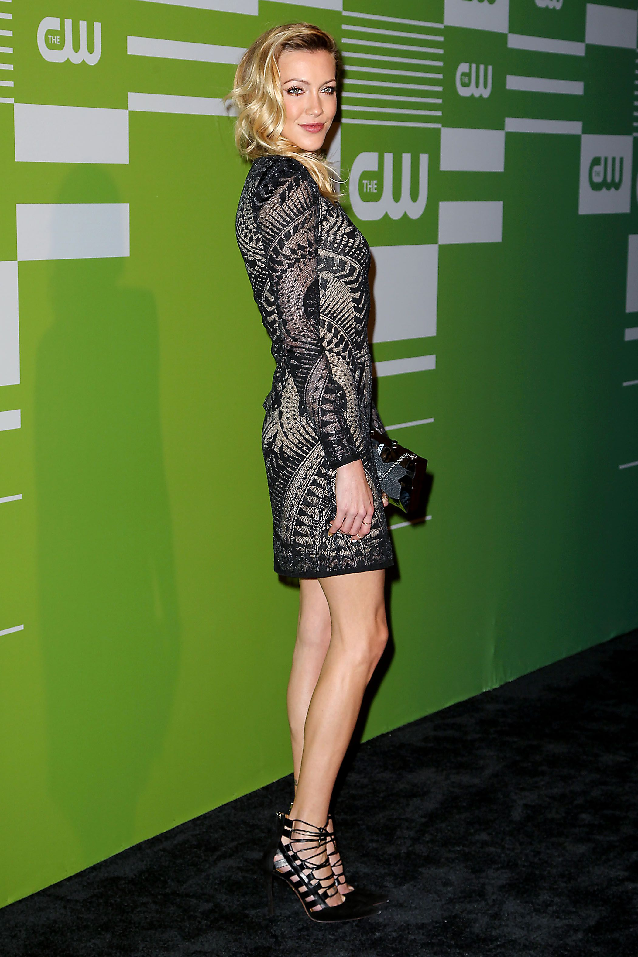Katie Cassidy attends the CW Network's New York 2015 Upfront Presentation at The London Hotel on May 14, 2015 in New York City.