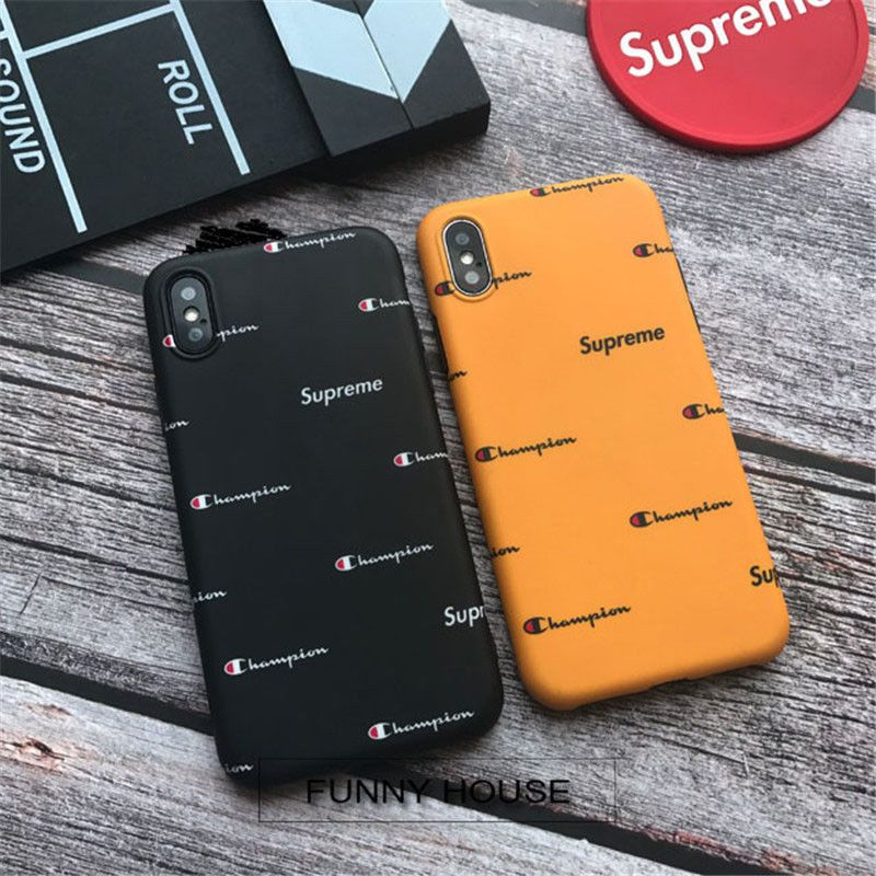 new arrival 0d2dc 94119 Original Couple Champion Classic Popup Soft Back Case For Iphone X 6 ...
