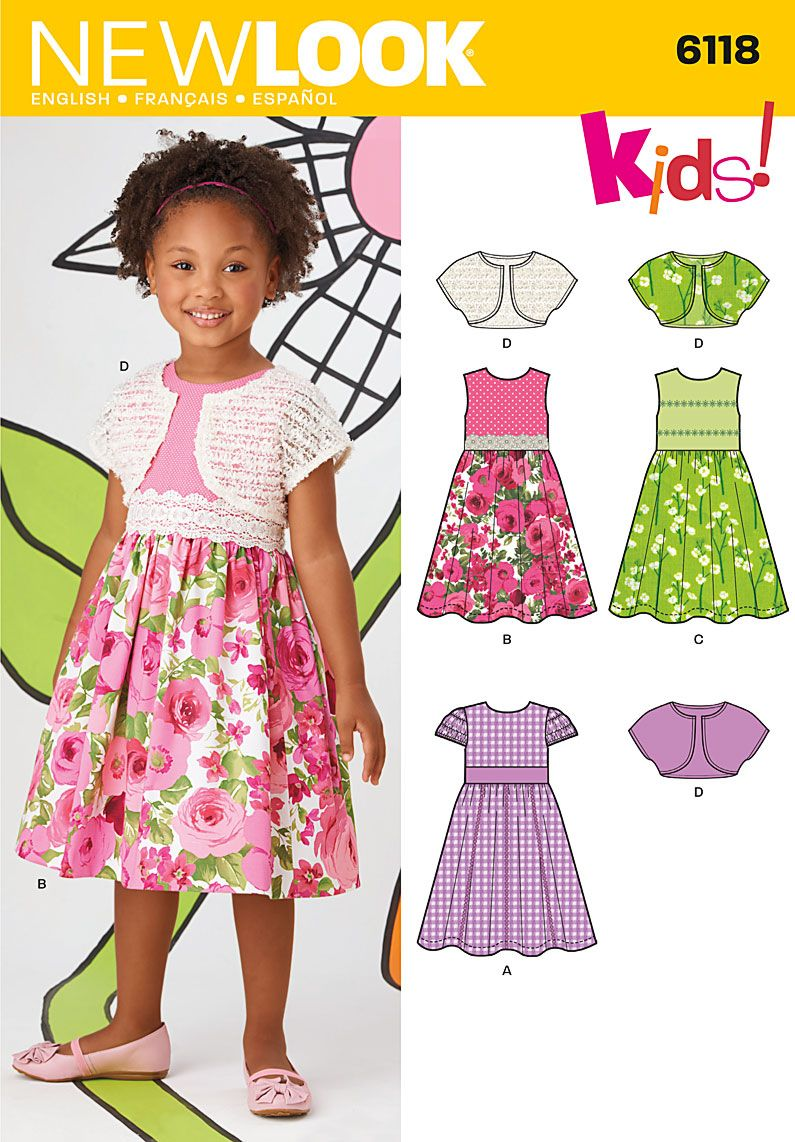 Simplicity creative group childs dresses kids sewing pattern sewing ideas jeuxipadfo Images