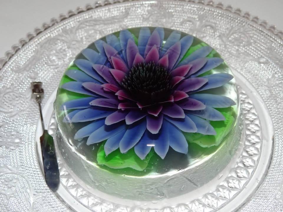 3d Kuchen: 3D JELLO, GELATINA