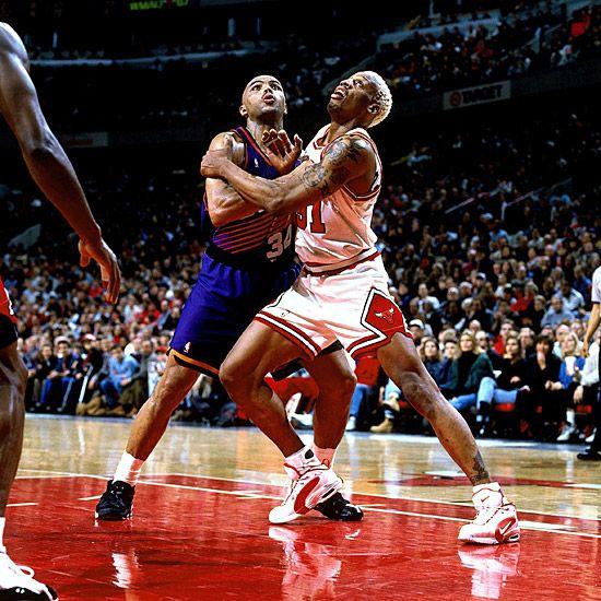 Dennis Rodman vs. Charles Barkley