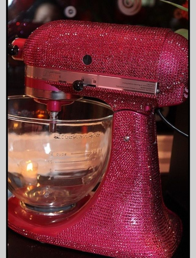 Blinged out pinkkitchen products!