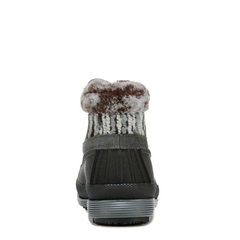 Propet Women's Lumi Ankle Zip Medium/Wide/X-Wide Winter Boots (Grey Suede)
