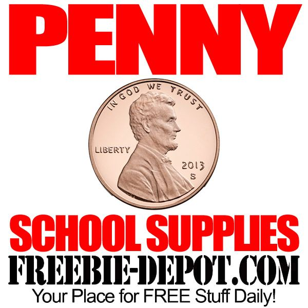 Penny School Supplies At Office DepotMax  Almost Free  Exp