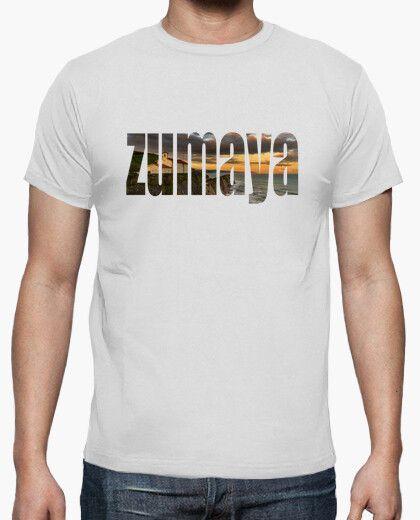 Camiseta turistica de Zumaya a color