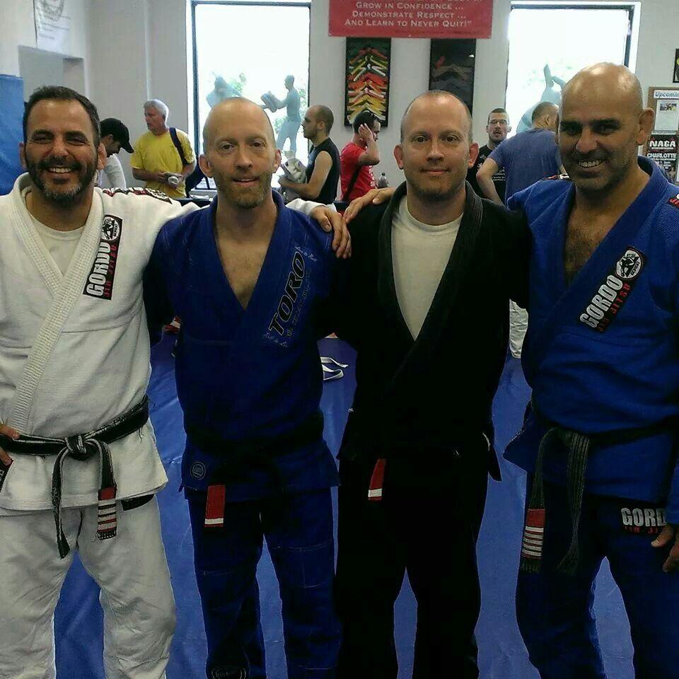 Gustavo, me, Rob, and Gordo!