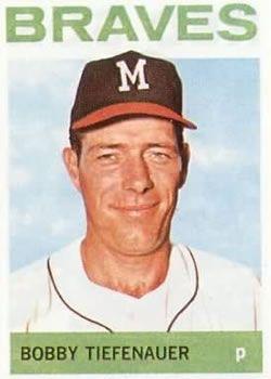 522 - Bobby Tiefenauer - Milwaukee Braves