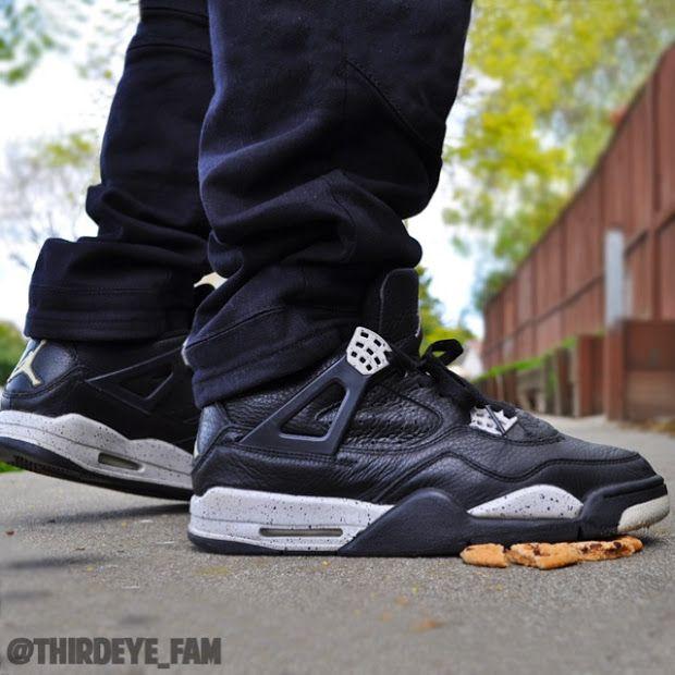e34657e7185936 Air Jordan IV Oreo - Its just cookies Jordan shoes