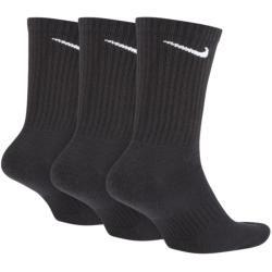 Nike Everyday Cushioned Crew-Trainingssocken (3 Paar) – Schwarz Nike