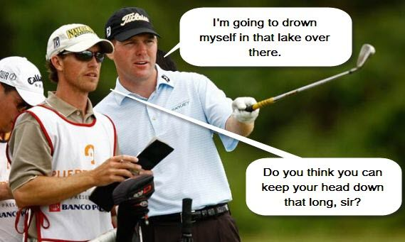Golf Jokes The Golfer And The Caddie Golf Humor Golf School Golf Tips