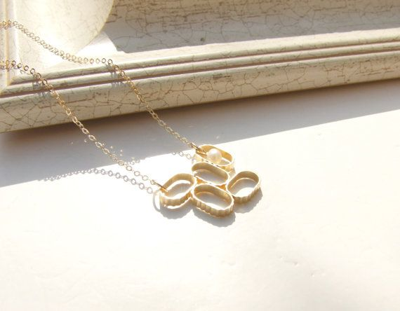 Betheny. Gold geometric vintage art deco white by YaelSteinberg, $34.00