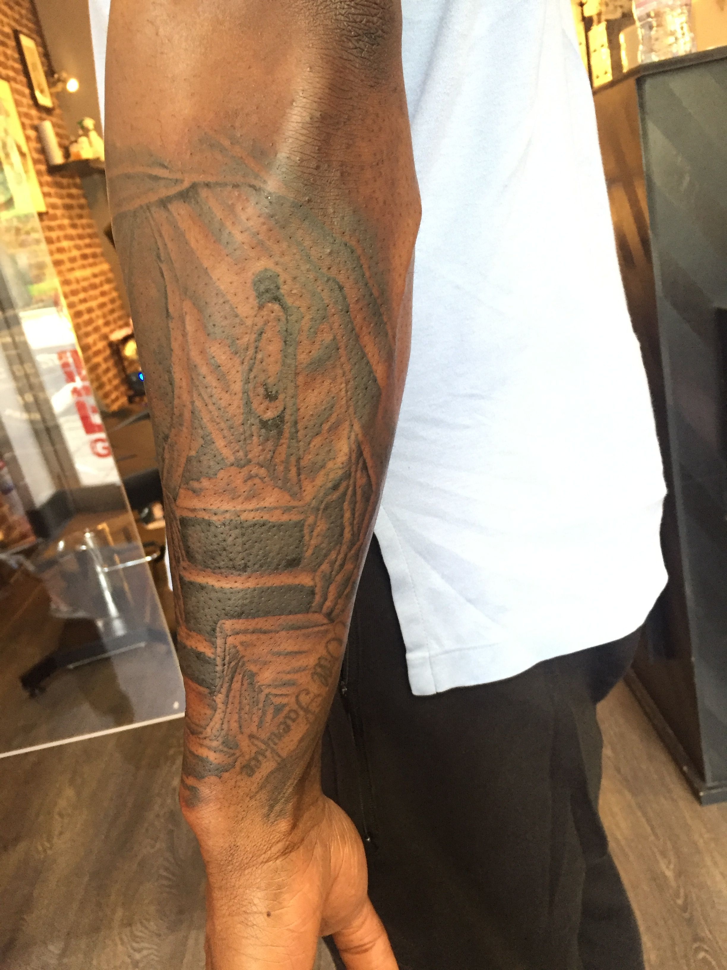 a9c86c883 Jesus risen religious sleeve | Inked by Me | Jesus is risen, Tattoos ...
