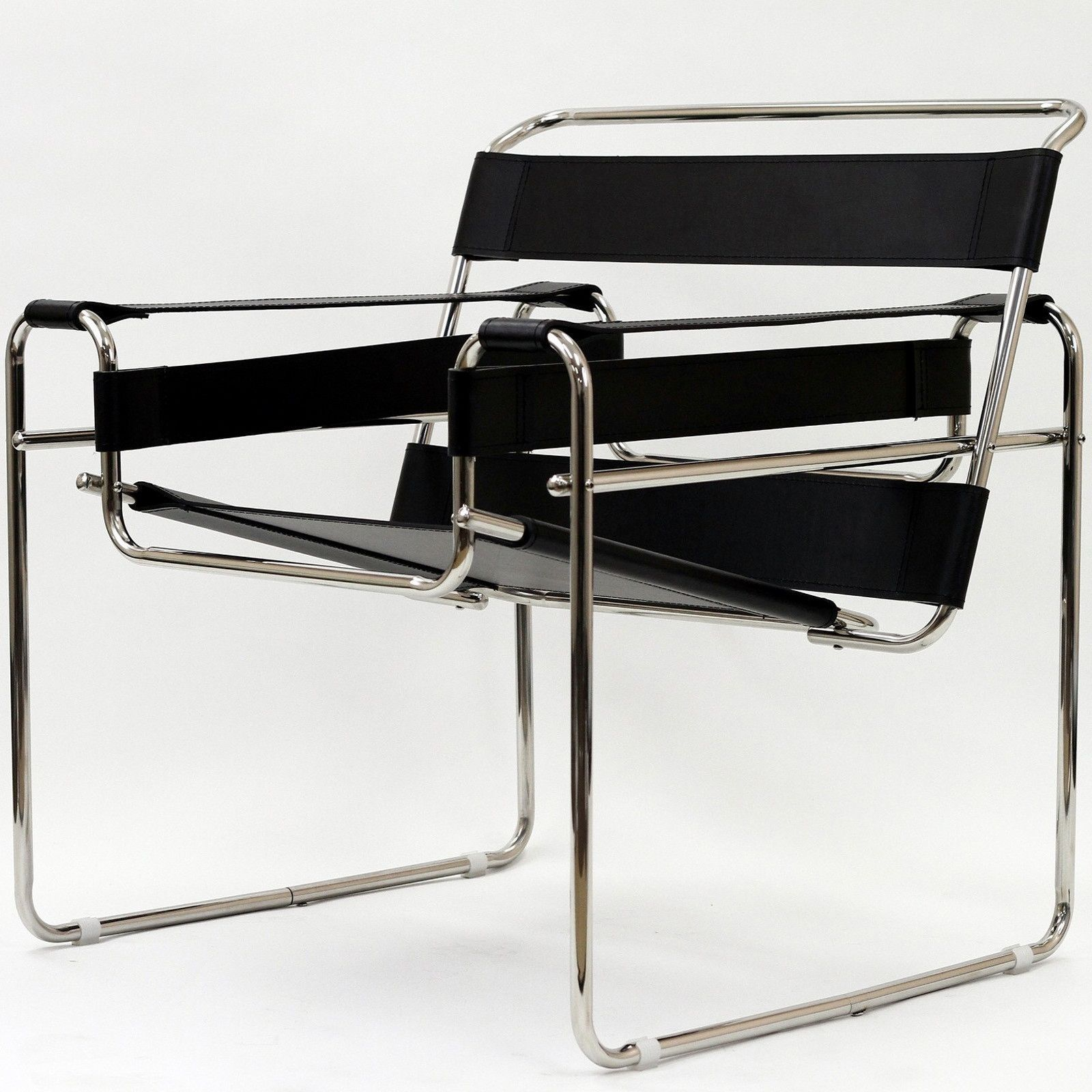 Wassily Chair, Black Wassily chair, Modern furniture, Chair
