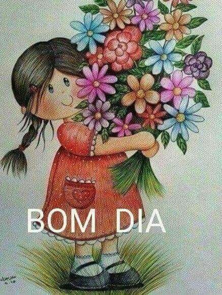 Bom Dia Com Fofura E Flores Frases E Mensagens Bom Dia Com