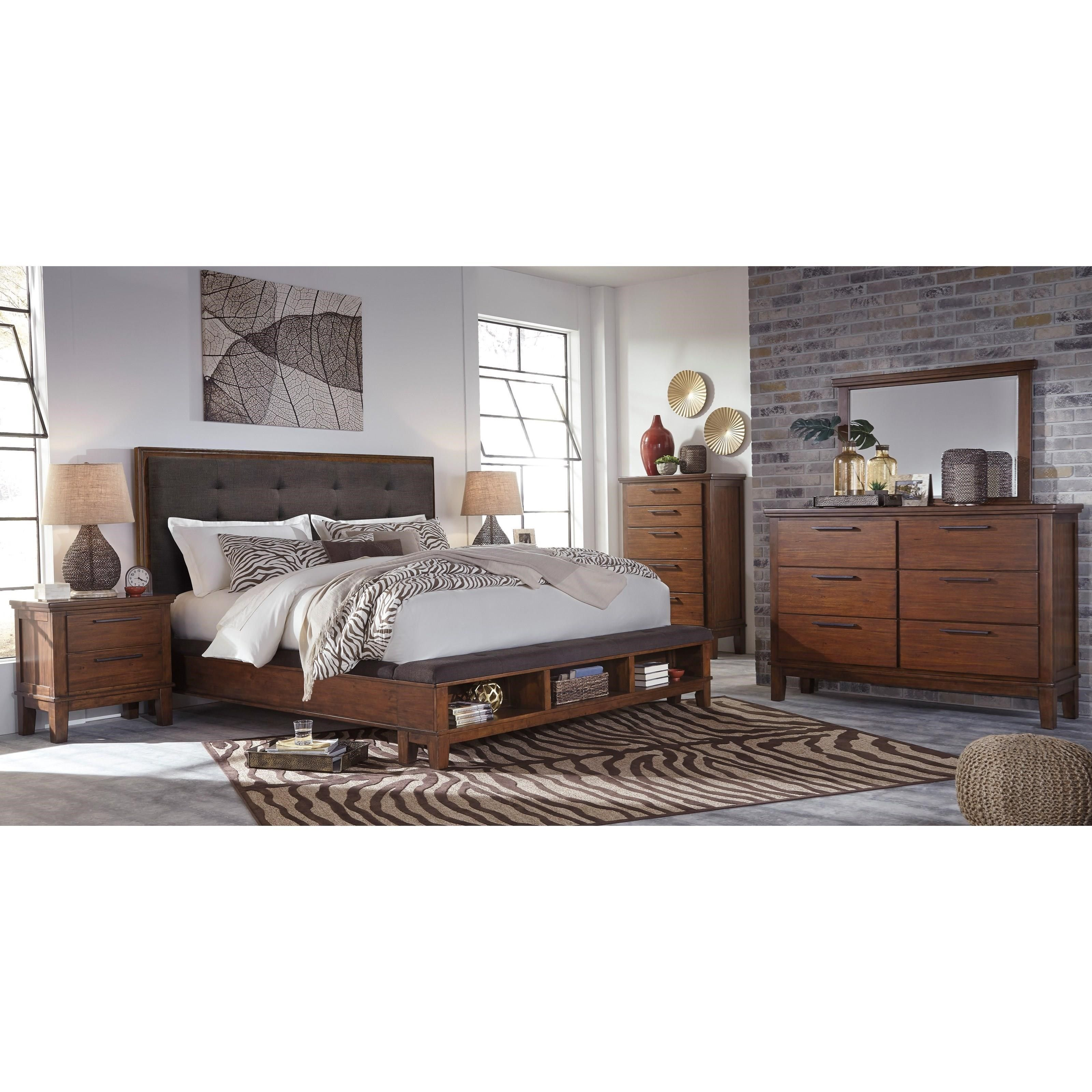 Ralene Queen 5 Piece Bedroom Group by Signature Design by