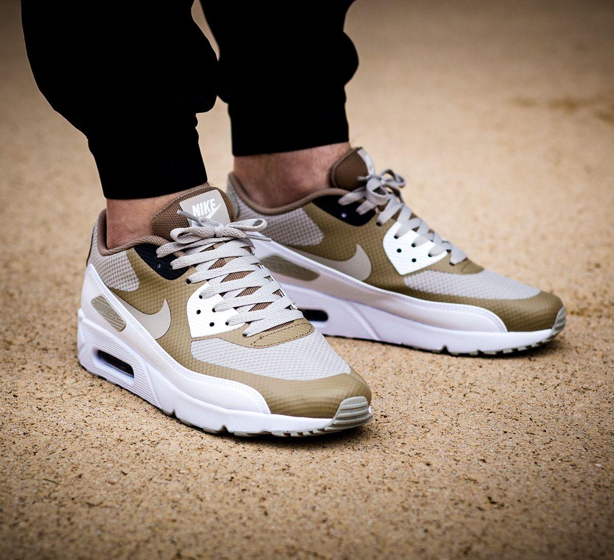 On Foot Nike Air Max 90 Ultra 2 0 Essential Pale Grey Eu Kicks Sneaker Magazine Cheap Nike Air Max Nike Air Nike Shoes Air Max