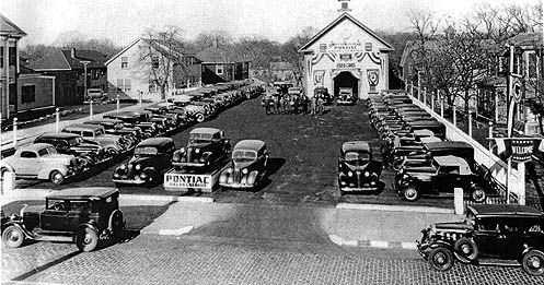1936 Used Car Lot Quincy Ma Old New England Photos