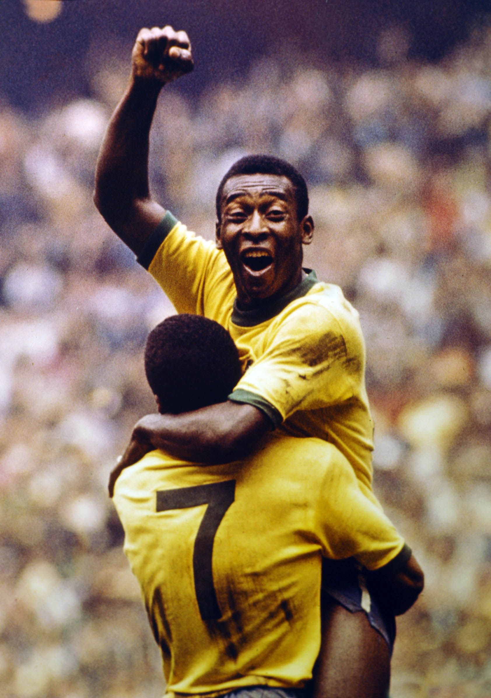 The amazing soccer player pele