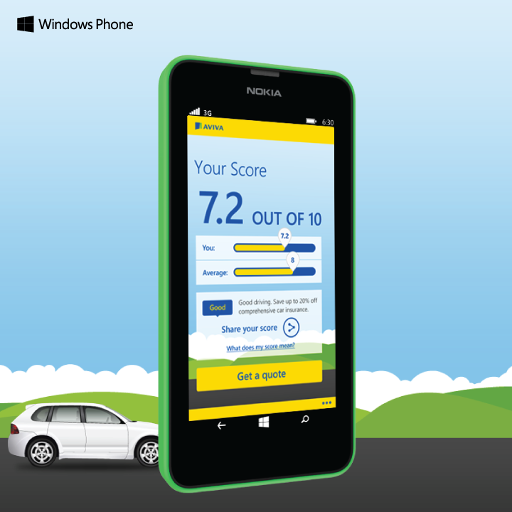 It S The Nokia Lumia 630 In Green And The New Windows Phone App