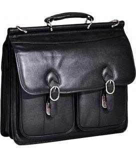 HAZEL CREST 15605 leather briefcase