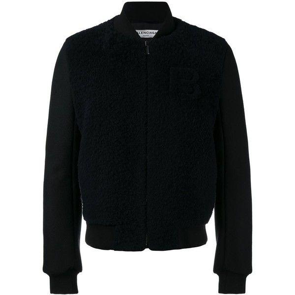 balenciaga shearling jacket