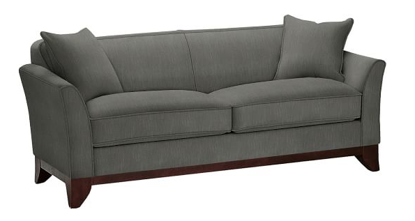 Brilliant Potterybarn Greenwich Upholstered Sofa Performance Tweed Interior Design Ideas Ghosoteloinfo