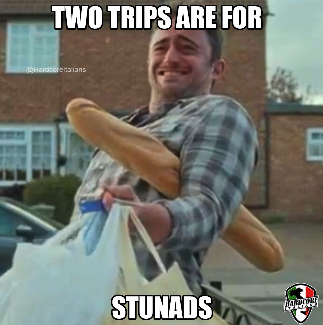 Two Trips Are For Stunads British Memes Kid Friendly Memes Memes