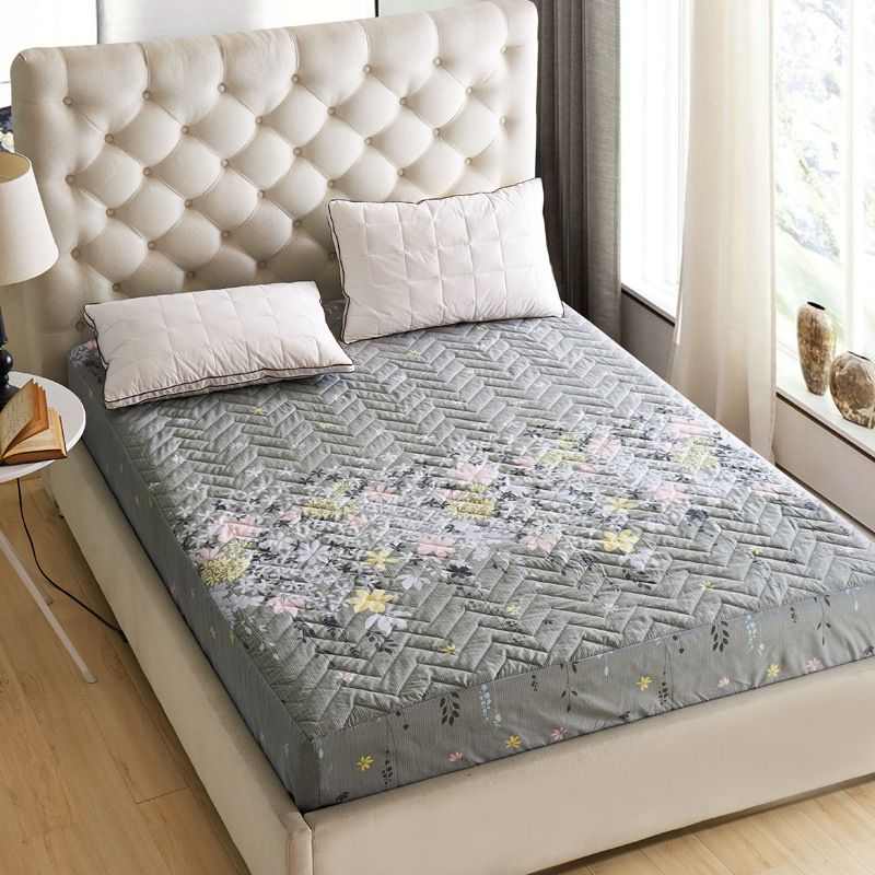 Delicieux Mattress · 2016 New Thick Quilted Mattress 1pc Fitted Bedspread Bedding ...