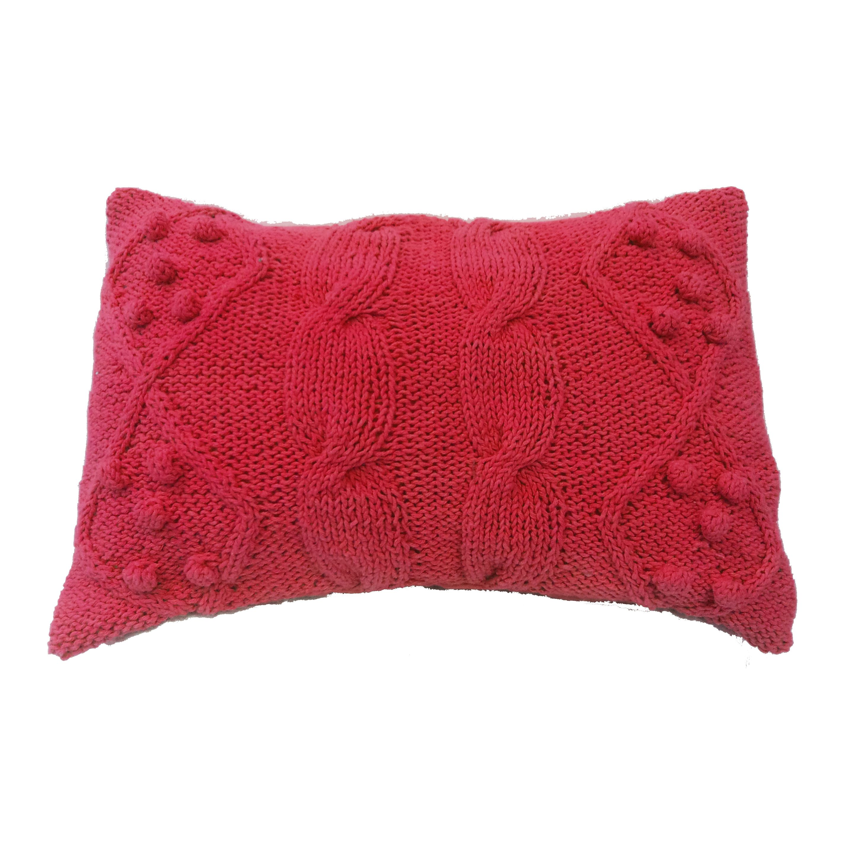 14x20 Twisted Cable Knit Pillow