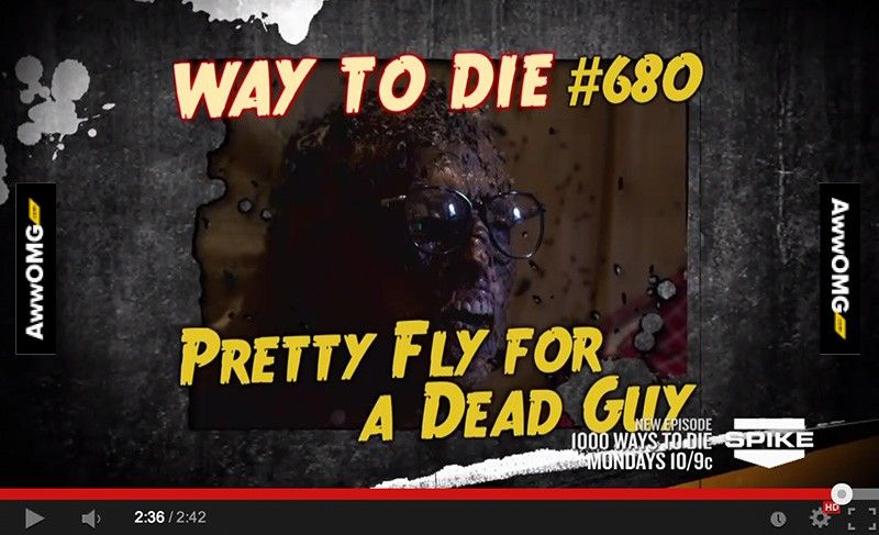 1000 ways to die 680 pretty fly for a dead guy http www awwomg