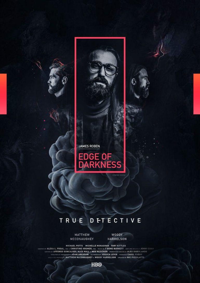 EDGE OF DARKNESS POSTER DESIGN Creative poster design