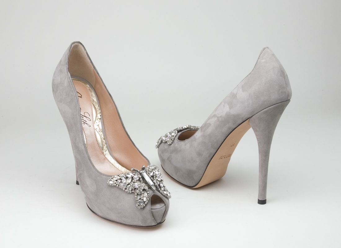Gray Bridesmaid Shoes Photo Album - Weddings Pro