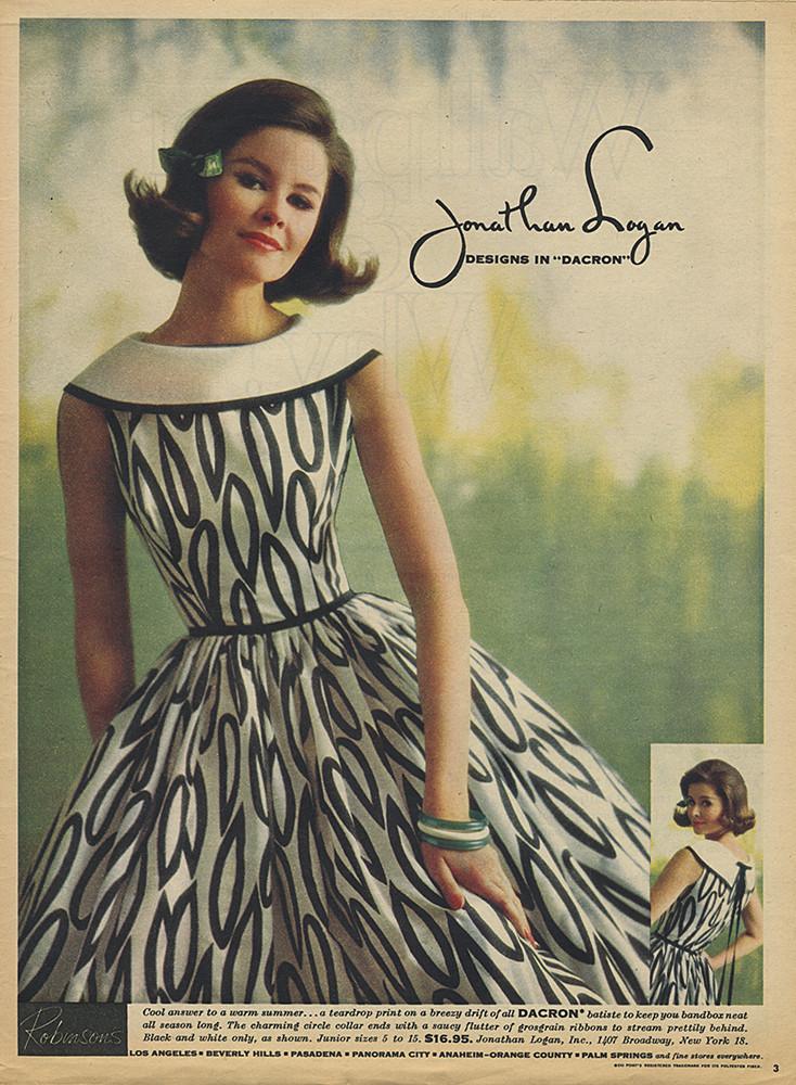 Jonathan Logan Adsausage Fifties Fashion Jonathan Logan Vintage Dresses