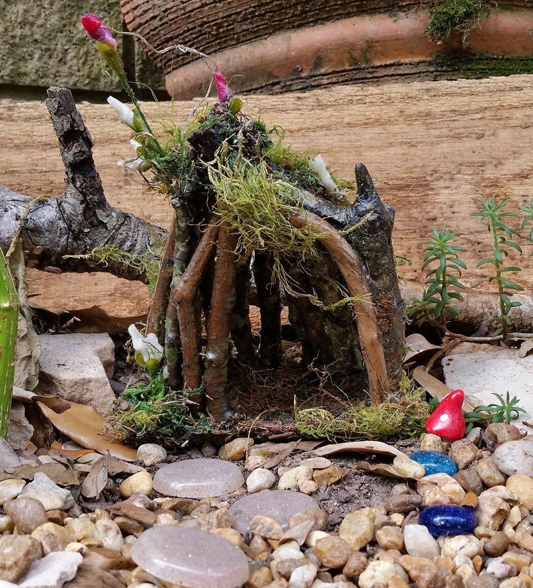 Fairy House, Outdoor Fairy House, Fairy Garden House, Terrarium House,  Gnome House