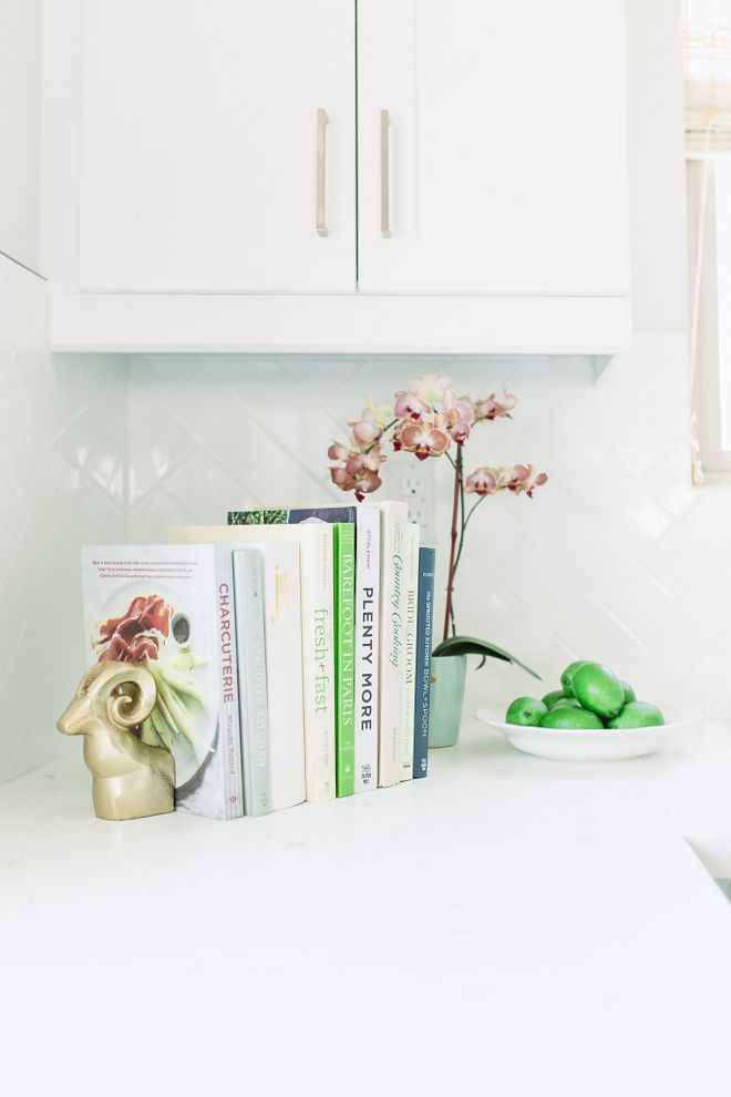 Benjamin Moore Simply White Kitchen with Clean Lines