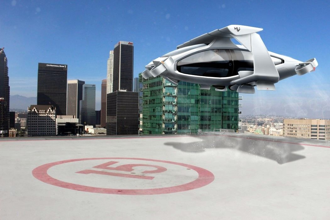 The Macchina Volantis can drive on roads and fly in the