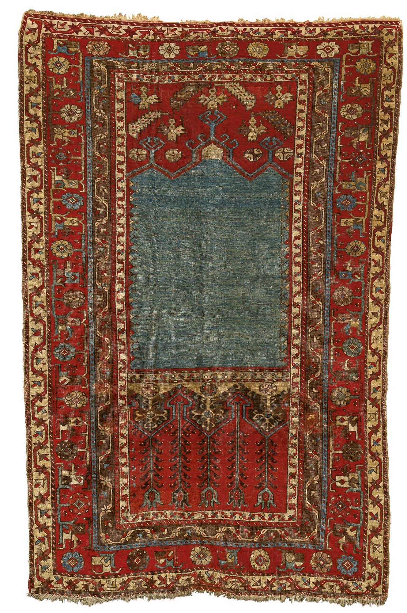 Teppich Reparieren A Ladik Prayer Rug Central Anatolia Approximately 5ft 10in By