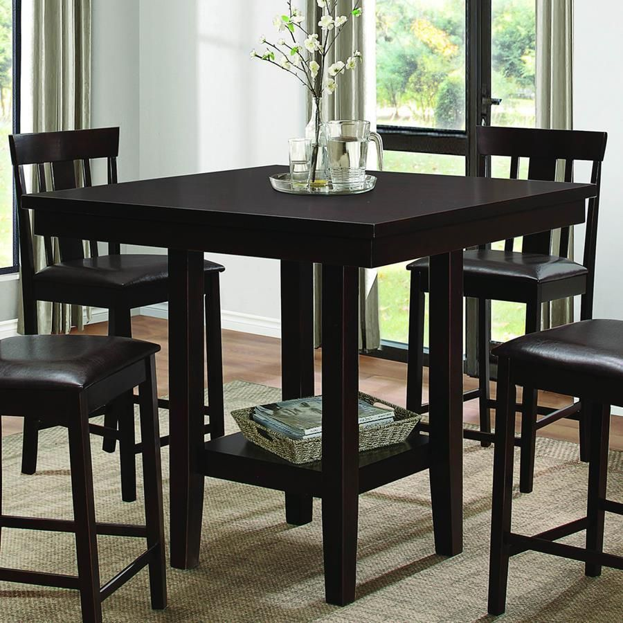 45+ Counter height square wood dining table Ideas