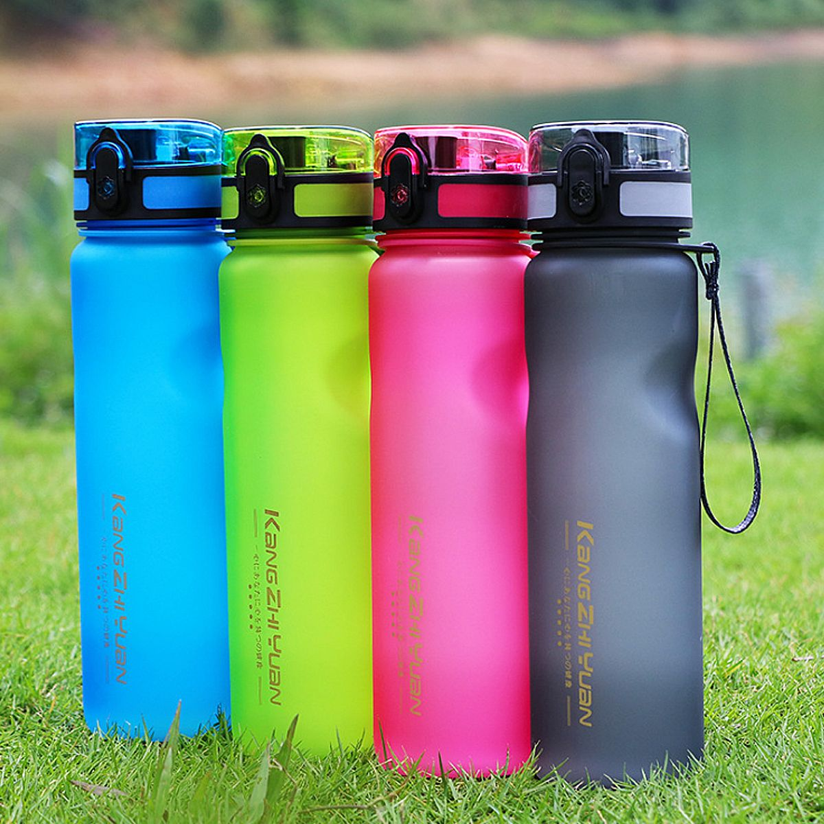 600ml Water Bottle Daily Pill Storage Organizer Box Outdoor Drinking Bottles Anti Leak Drinkware Water Bottle Bottle Daily Pill Storage