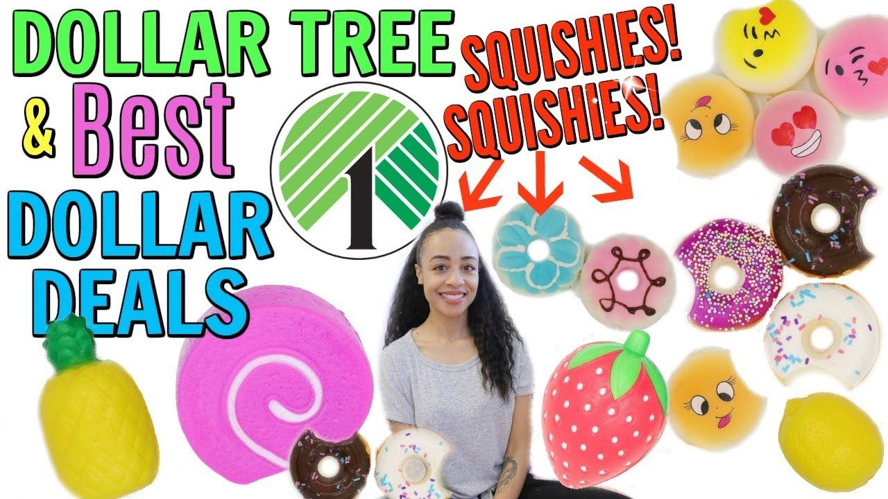 DOLLAR TREE SQUISHY HAUL AND MORE BEST DEALS
