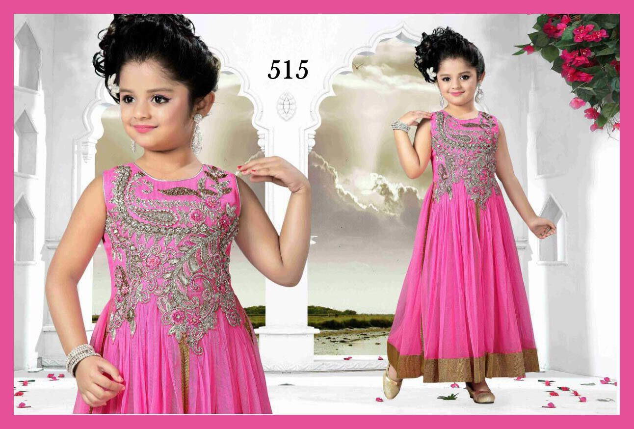 Lil girl gown wedding adorning this net abaya style gown in pink