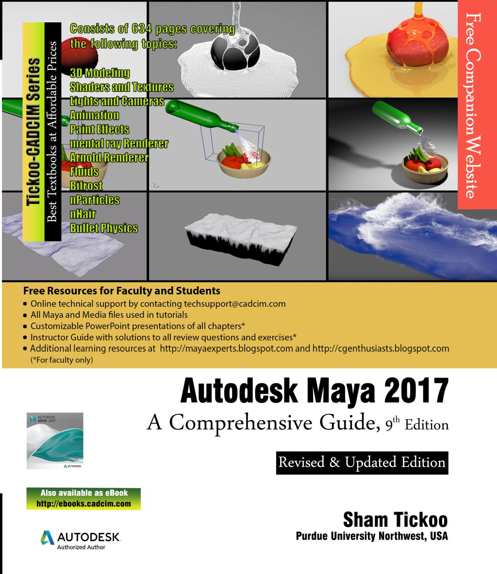 Autodesk Maya 2017 A Comprehensive Guide 9th Edition Ebook