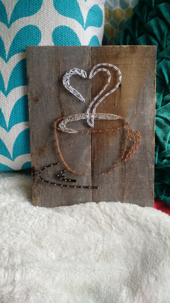 coffee love string art fadenbilder vorlagen pinterest. Black Bedroom Furniture Sets. Home Design Ideas