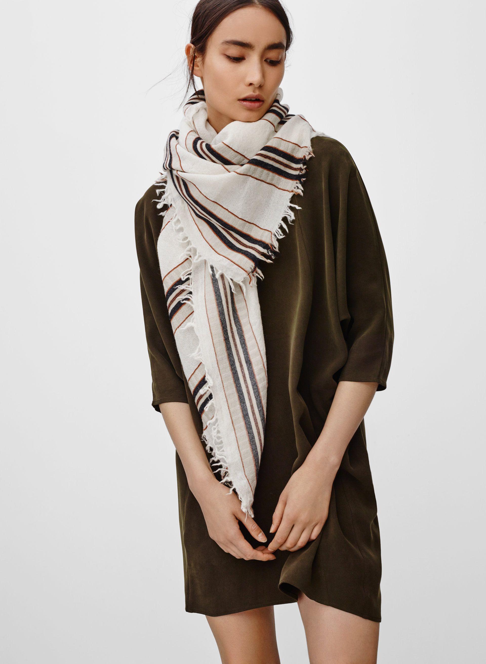 8ea406cffc74a Stripe blanket scarf | Dress-up | Blanket scarf, Scarf hat, Fashion