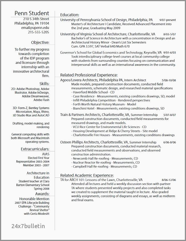 Civil Engineer Intern Resume Luxury 19 Civil Engineering Internship Resume Examples