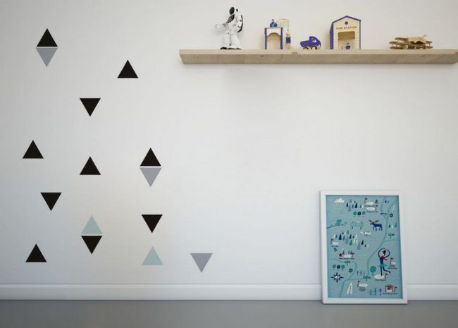 Wand Streichen Muster Und 65 Ideen Fur Einen Neuen Look Wande Streichen Wand Streichen Muster Haus Deko