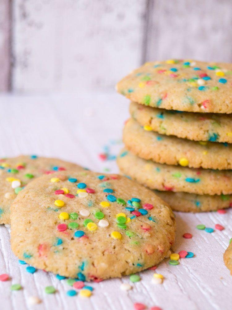 Konfetti-Cookies Rezept Konfetti, Fasching und Backen - geschenke aus der küche rezepte