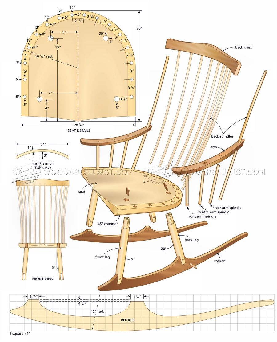 Tedswoodworking plans review | rocking chair plans, wooden rocking.
