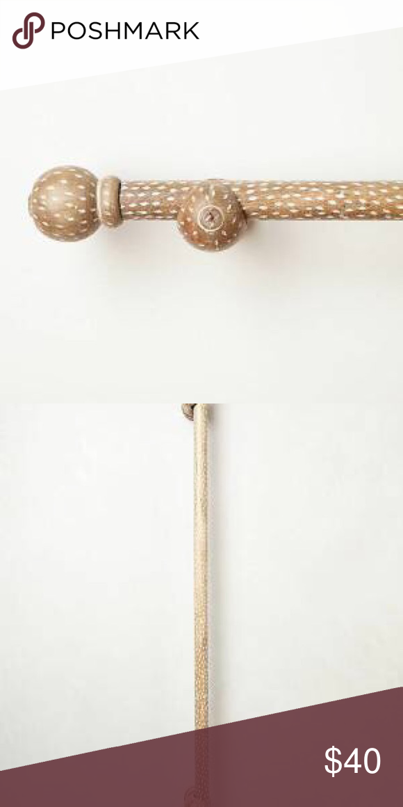 Speckled Wood Anthropologie Curtain Rod Curtain Rods