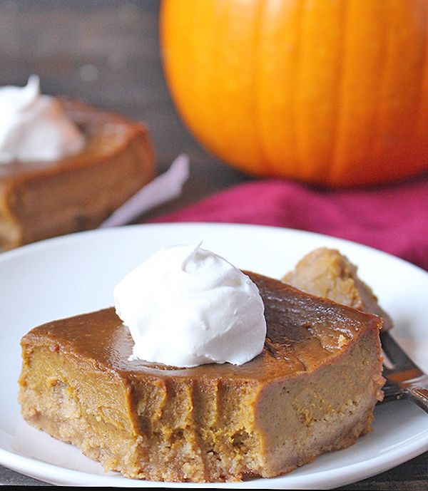 Pumpkin Pie Bars Desserts: Real Food With Jessica In 2019